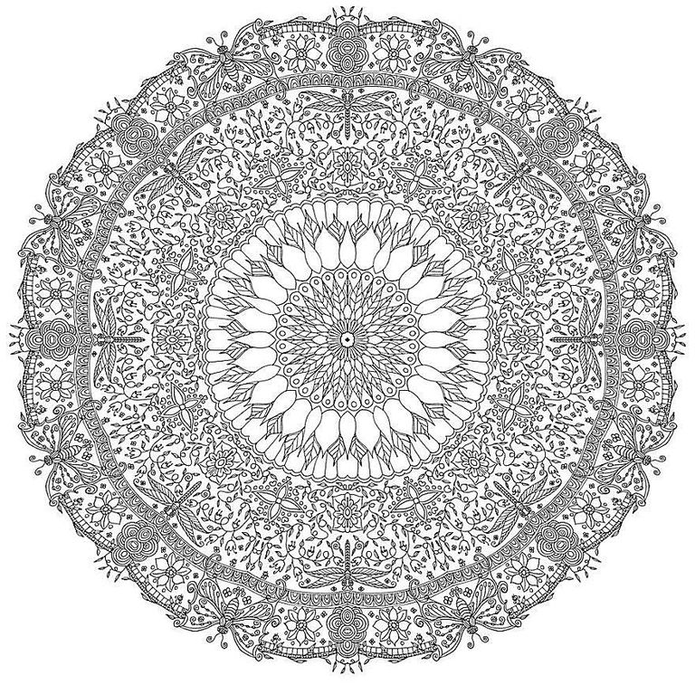 Mandala Coloring Pages For Adults Magnificent 843 Free Mandala Coloring Pages For Adults Review