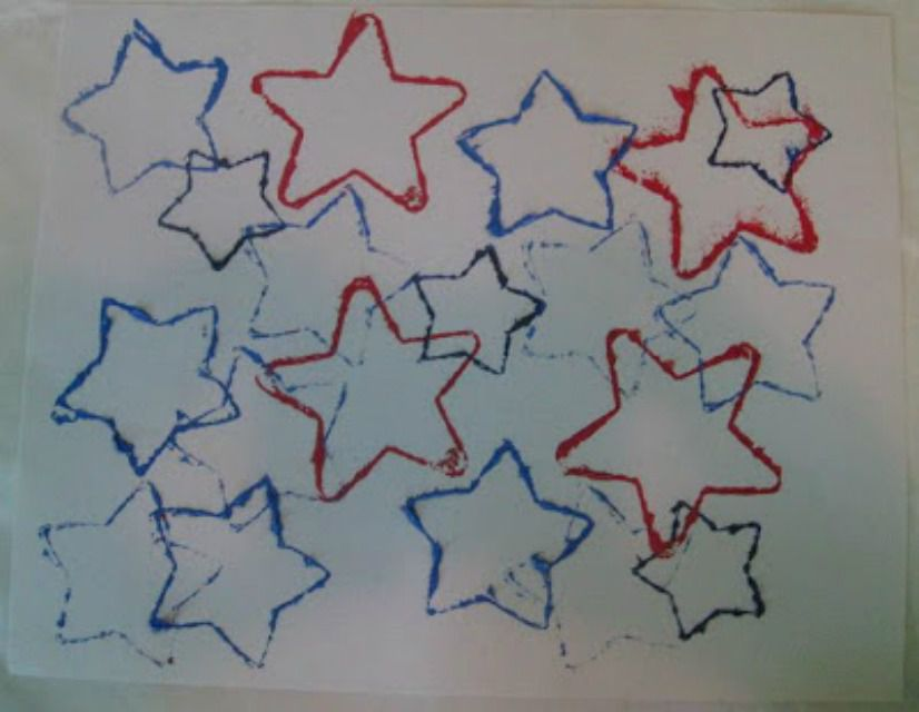 Cookie Cutter Stars