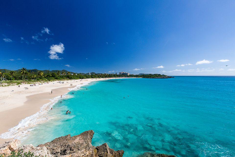 Best St Martin Sint Maarten Beaches in Caribbean