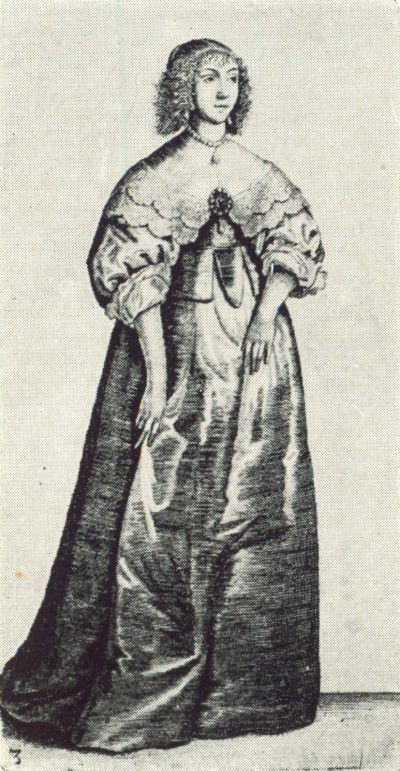 Women 39 S Fashions Of The 17th Century Hollar Engravings