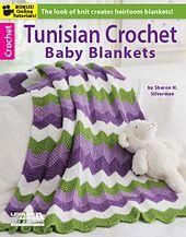 Tunisian Crochet Baby Blankets Book by Sharon Silverman