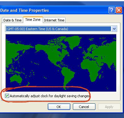 Change The Date And Time Zone On Windows Laptop - Time changes in us
