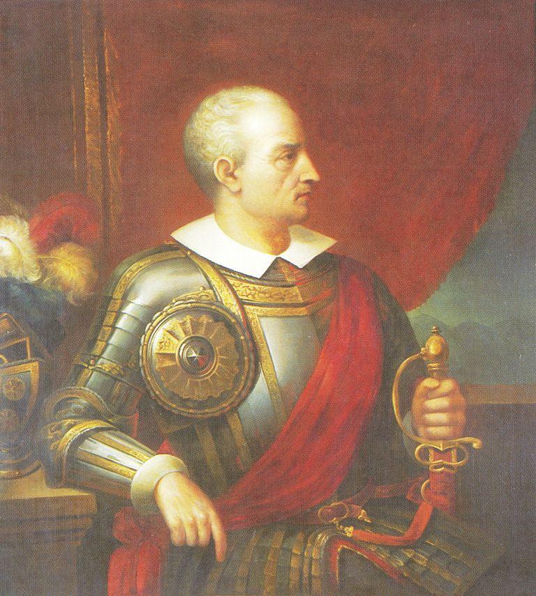 Portrait of Diego de Almagro