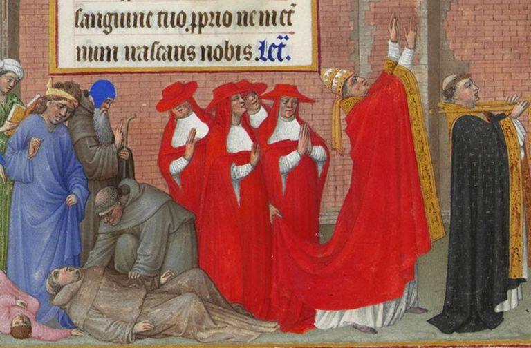 Plague procession