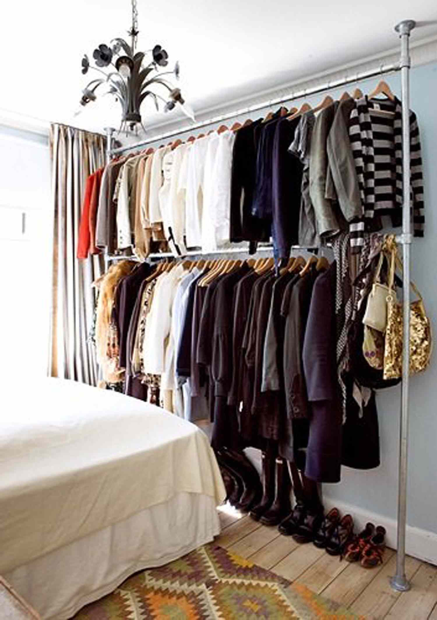 hanging rail down pull closet watch youtube sliderobes wardrobe rod