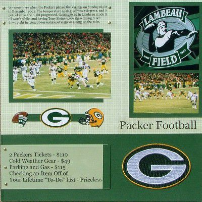 Packer Football