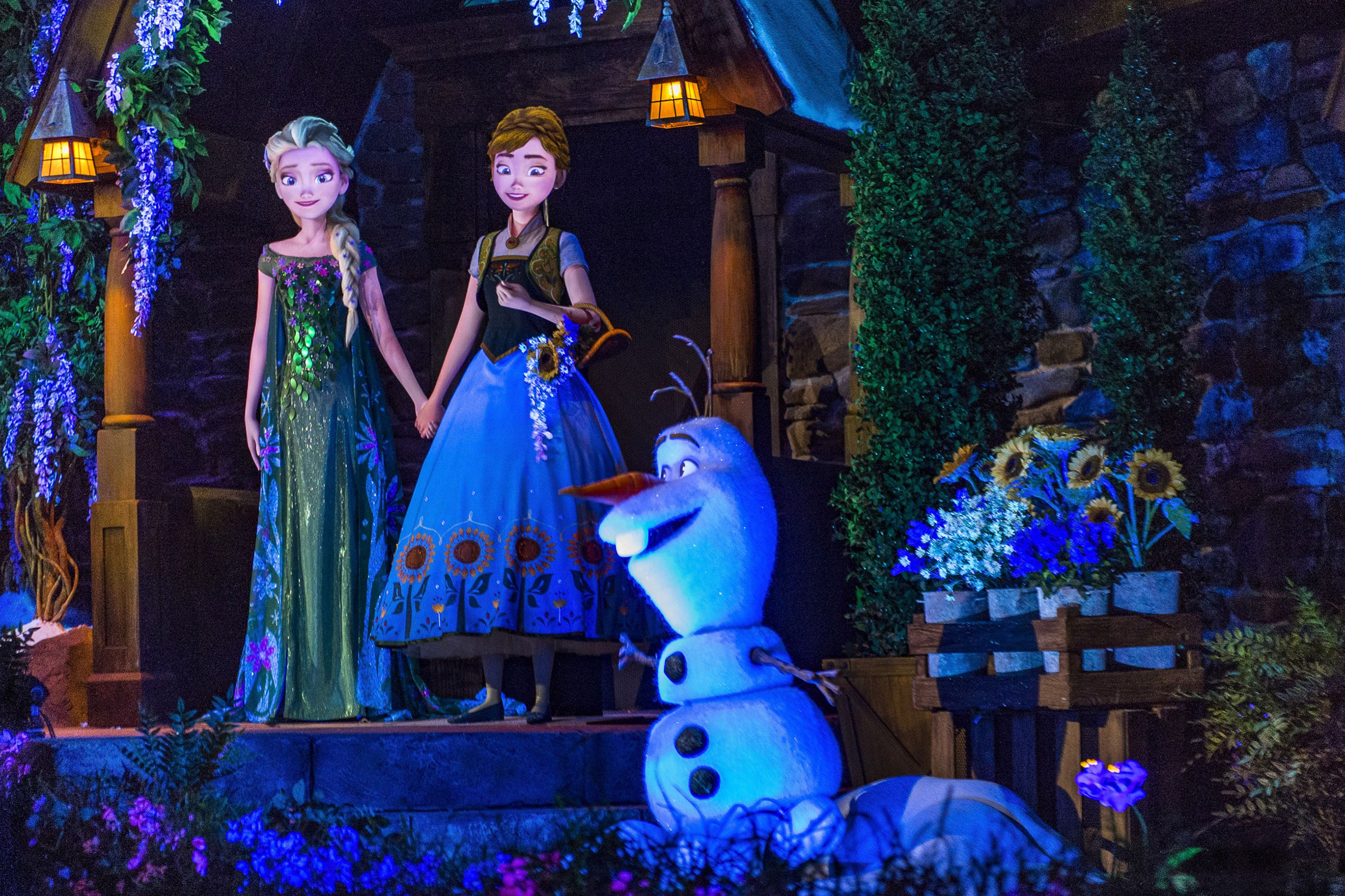 Epcot S Frozen Ever After Ride