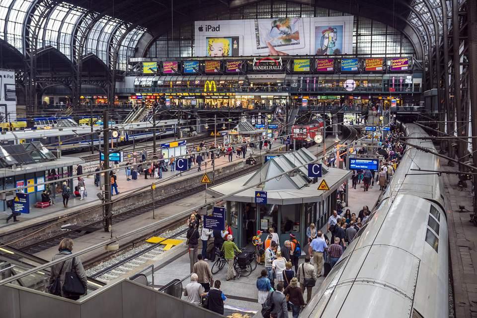 Hamburg Hauptbahnhof, Hamburg, Germany