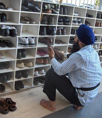 Shoe Seva Gurdwara Bradshaw