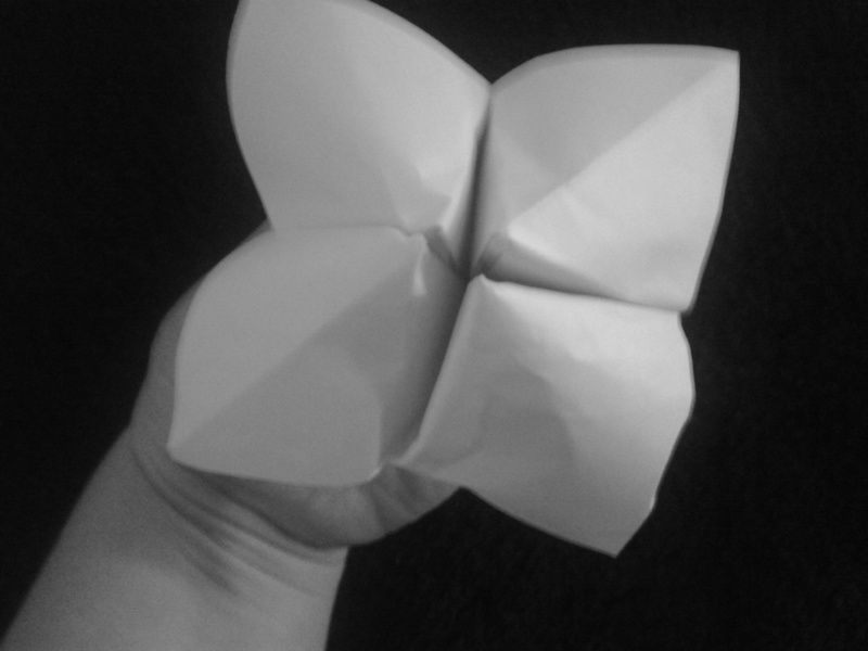 A cootie catcher.