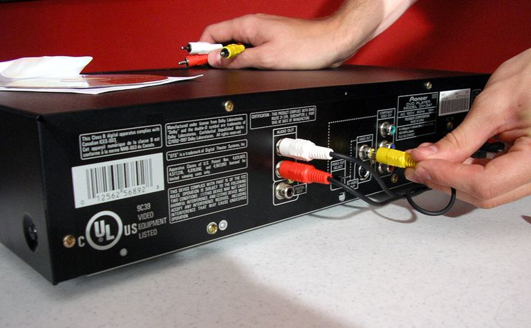 RF Modulator with a DVD Player and TV