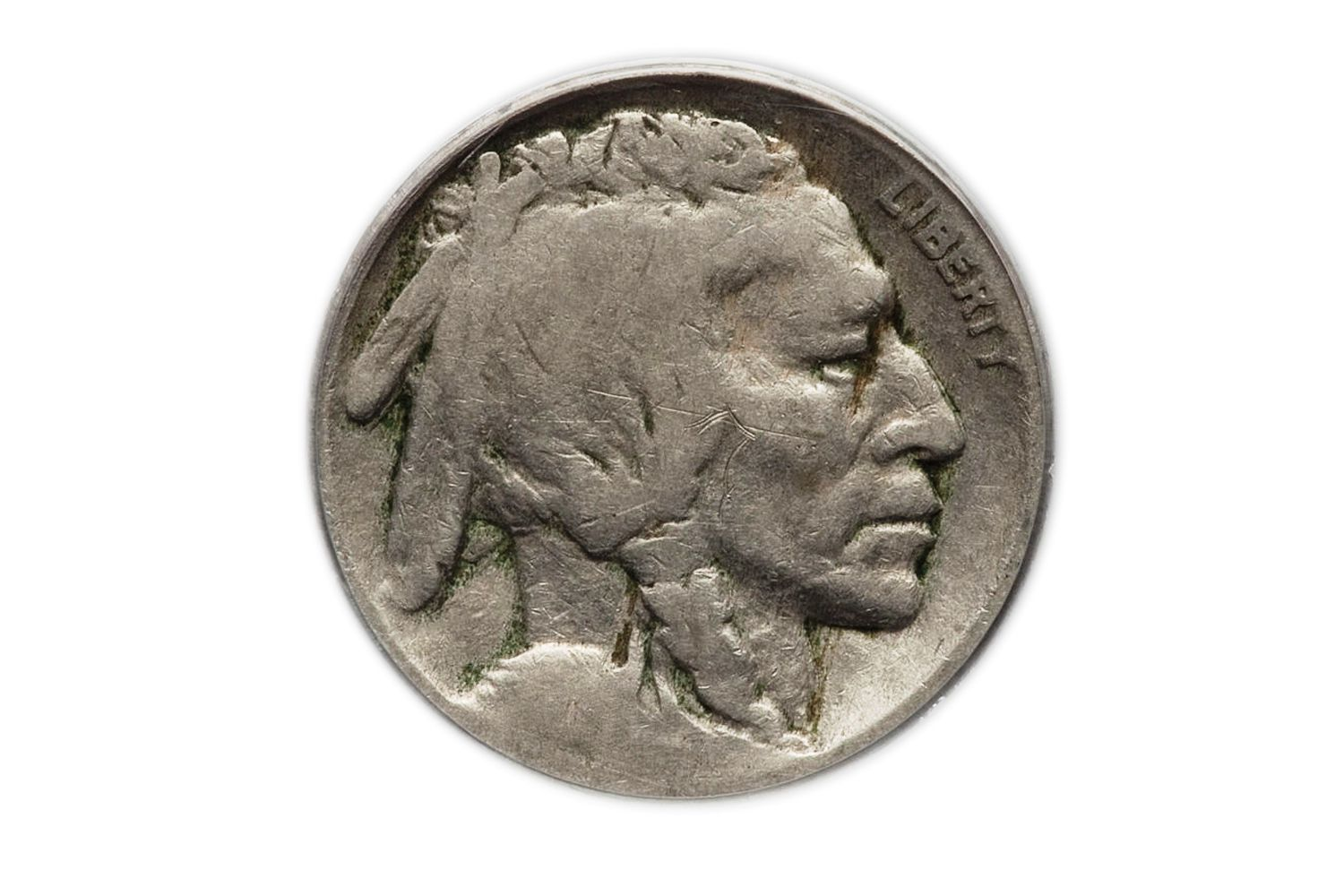 Buffalo nickel no date in Melbourne