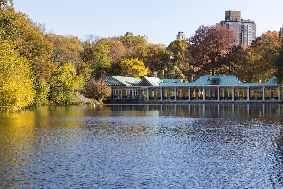 The Loeb Boathous on The Lake