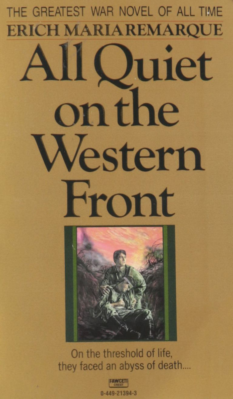a literary analysis of the novel all quiet on the western front by remarque Free essay: literary critique of all quiet on the western front in the book all quiet on the western front, erich maria remarque illustrates the picture of.