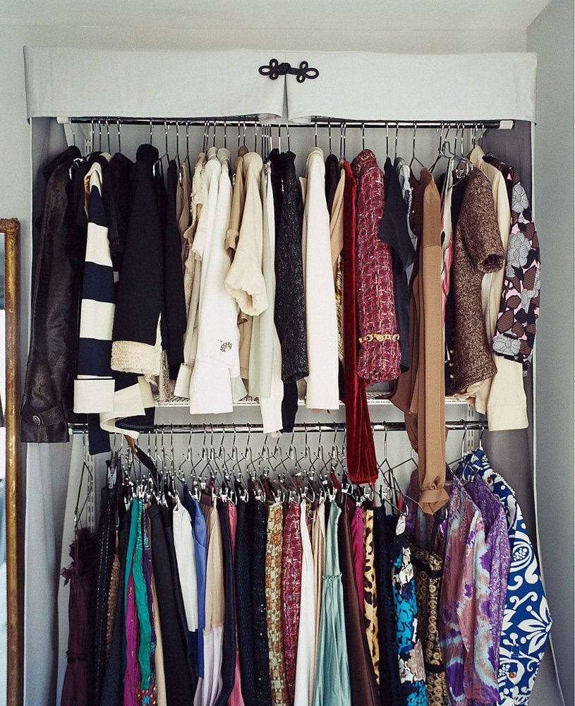 Bedroom Without Closet: Store Clothes Without A Closet