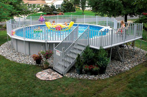 Above-Ground Doughboy Swimming Pool