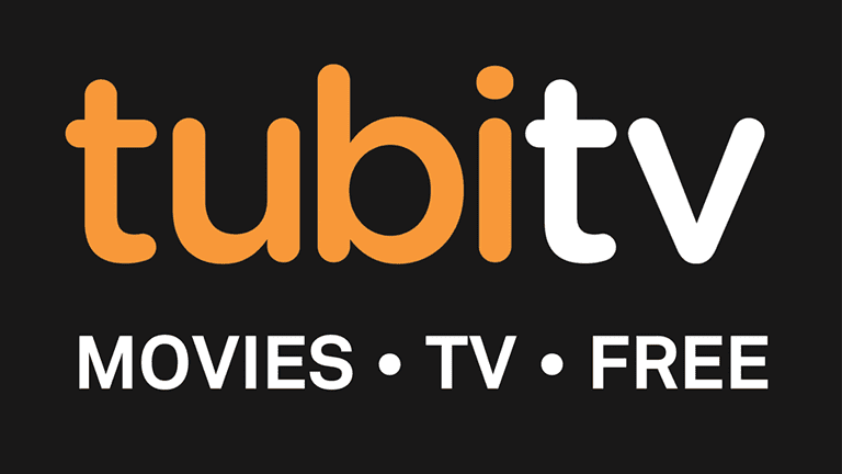 Screenshot of the Tubi TV logo