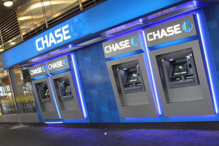 Chase Bank ATM Near Wall Street