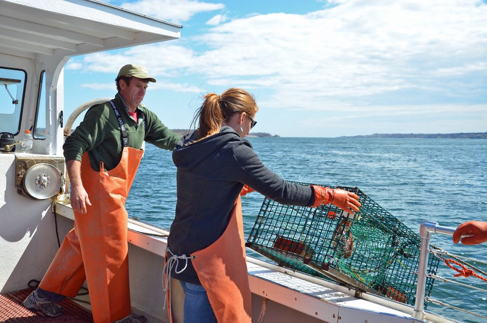 Lucky Catch Lobster Boat Portland Maine