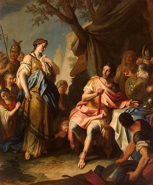 Alexander The Great and Roxane by Pietro Rotari (Hermitage, S.-Peterburg, Russia) 1756