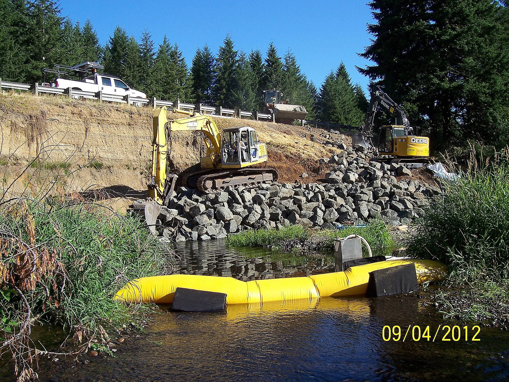 Costs and installation tips when building a riprap turbidity barriers prevent turbid water from entering clean water solutioingenieria Choice Image