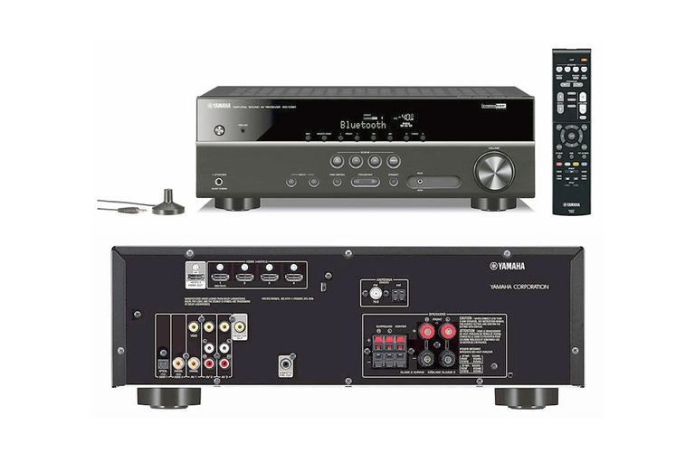 yamaha 39 s rx v381 budget priced home theater receiver profiled. Black Bedroom Furniture Sets. Home Design Ideas