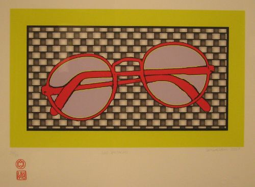 leonard cohen art artworks lost spectacles