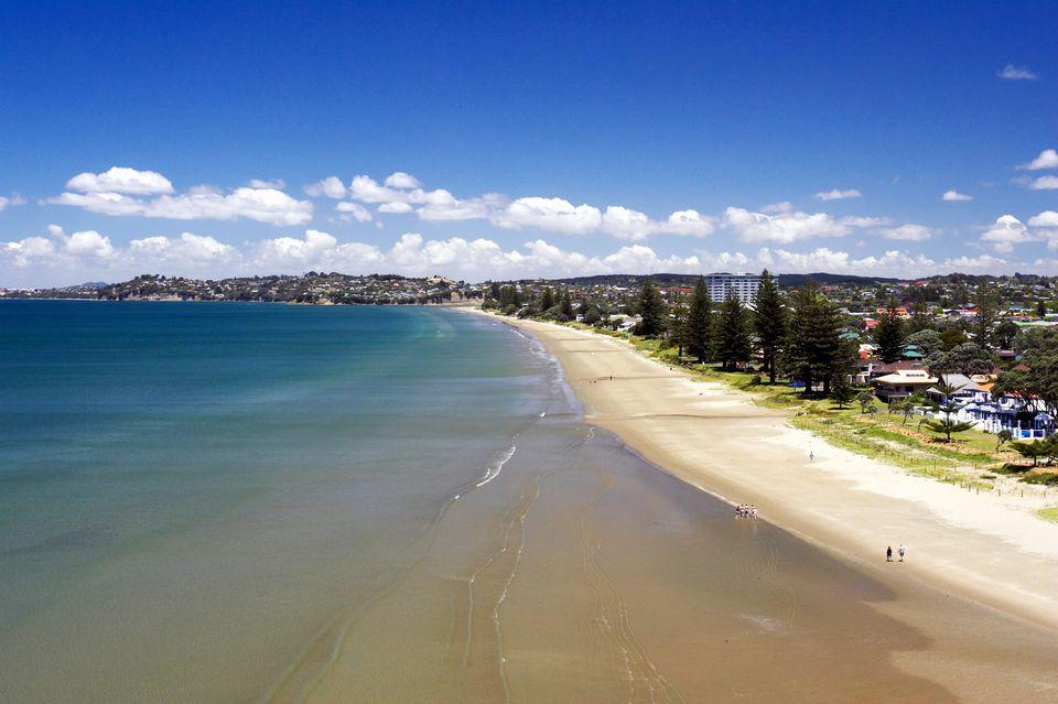 Orewa Beach, North Auckland.