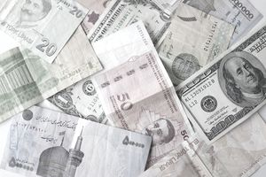 Currency from different countries of the world