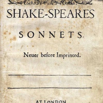 an analysis of sonnets by shakespeare Shakespeare sonnet 87 analysis: farewell, thou art too dear for my possessing, and like enough thou know'st thy estimate the charter of thy worth gives thee.