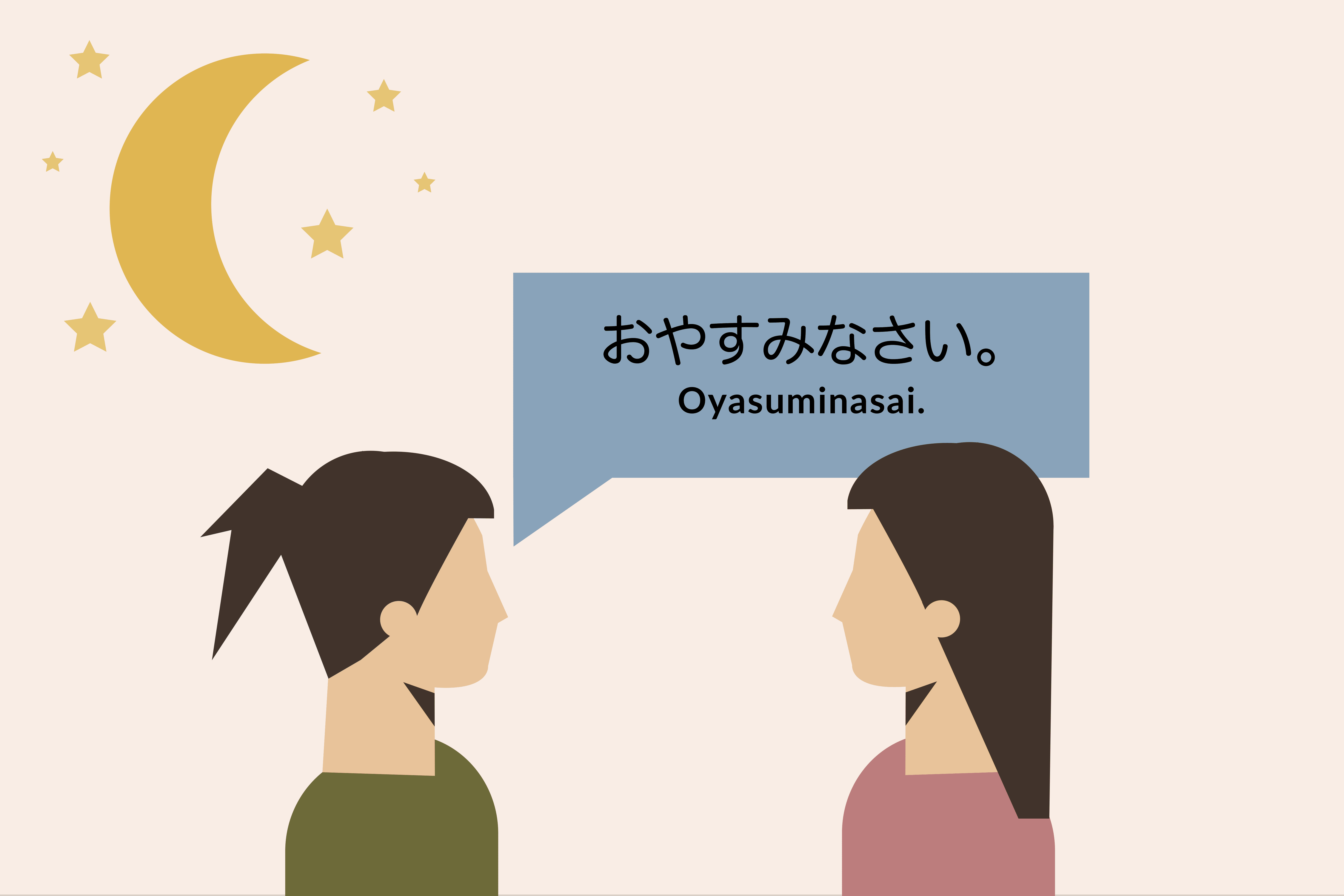 Good Morning In French And Italian : How to say good night oyasuminasai in japanese