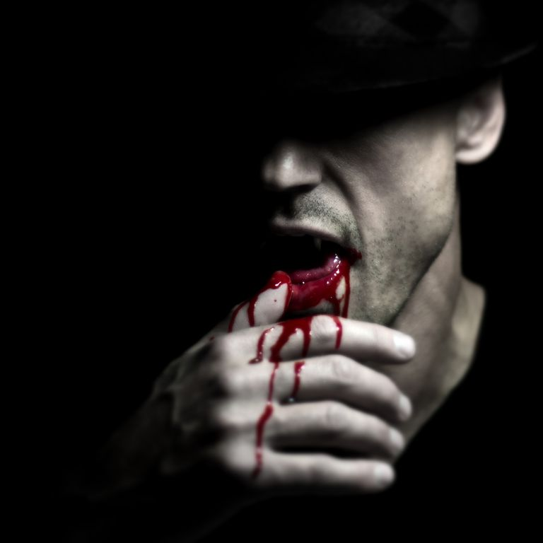 Man vampire blood fedora