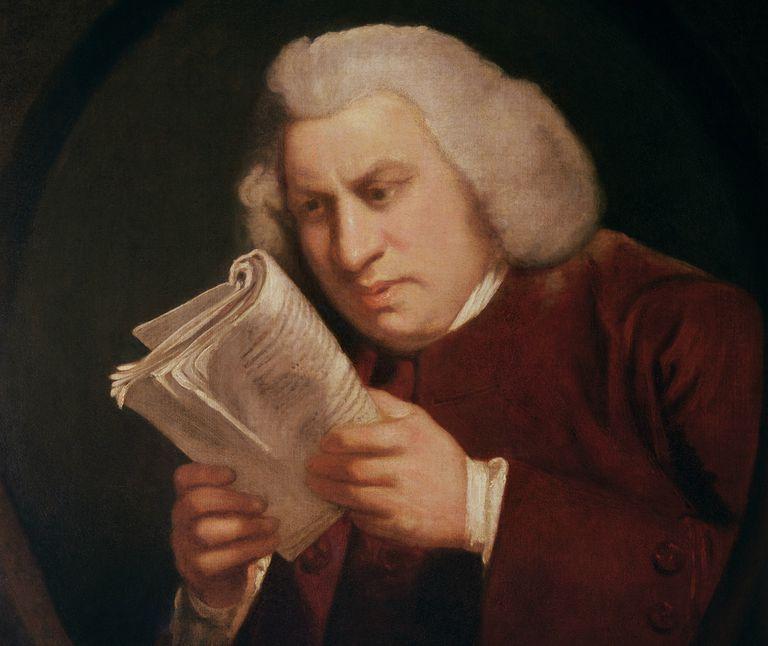 Dr. Samuel Johnson (1709-84) 1775 (oil on canvas)