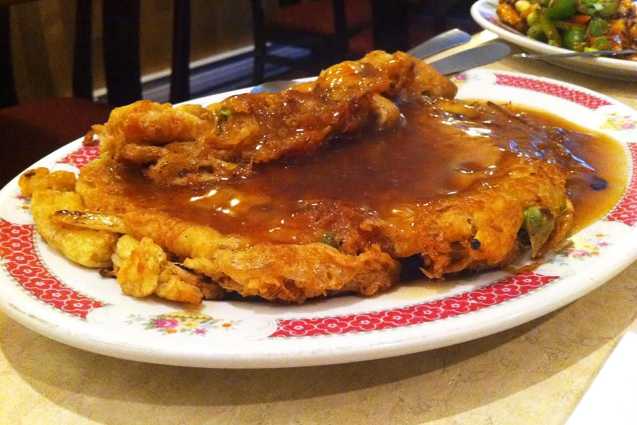 Stir-Fried Egg Foo Young With Gravy Recipe