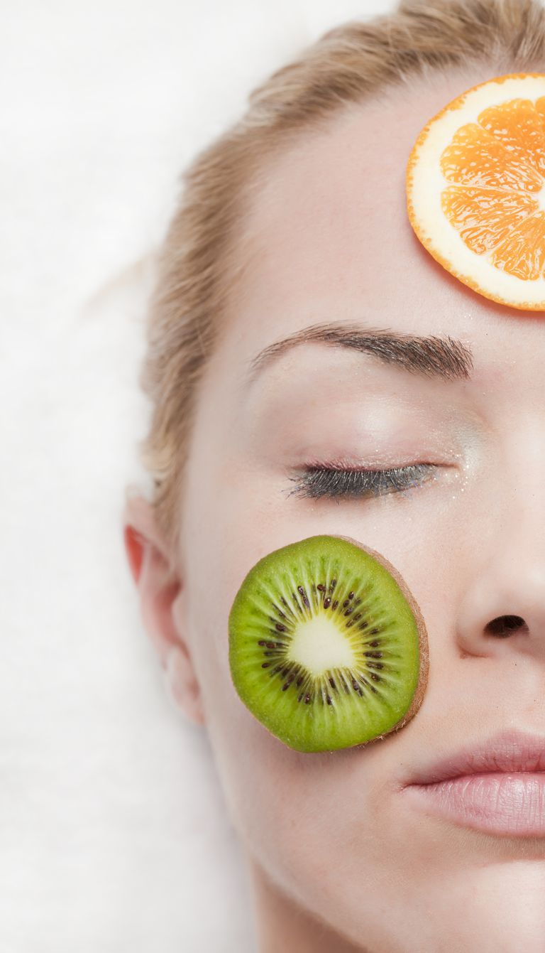Fruit juice masks for oily skin