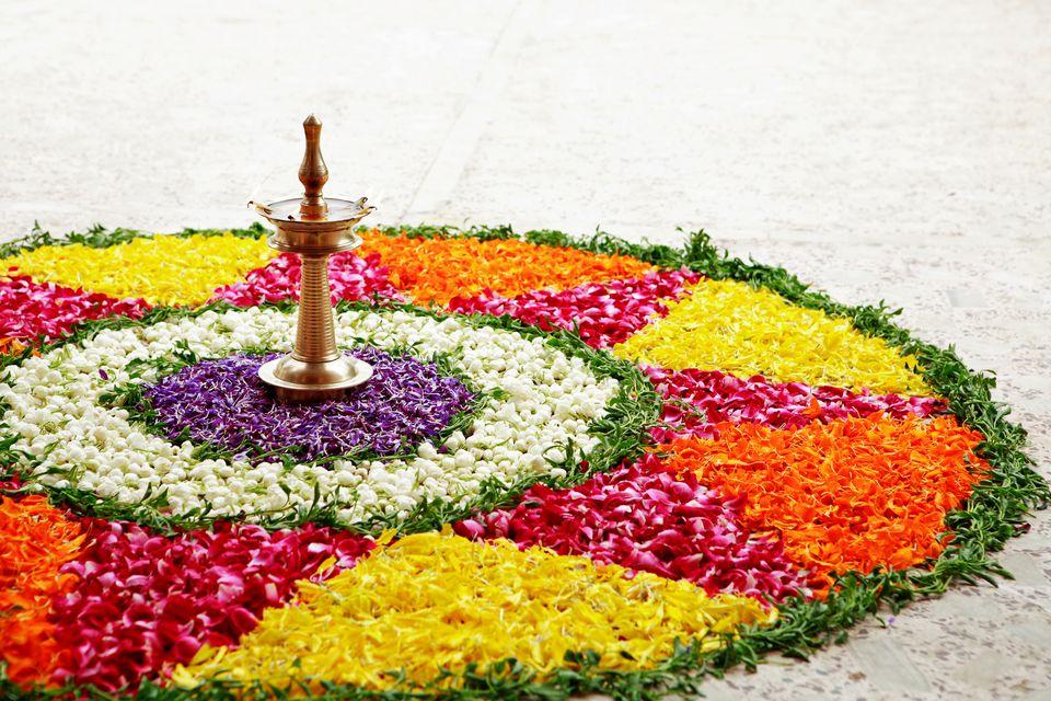 Onam festival in Kerala.