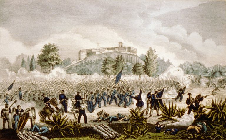 The Battle of Chapultepec