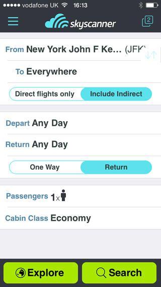 Aplicaciones para encontrar tickets de vuelos baratos for Aplicacion para buscar habitacion