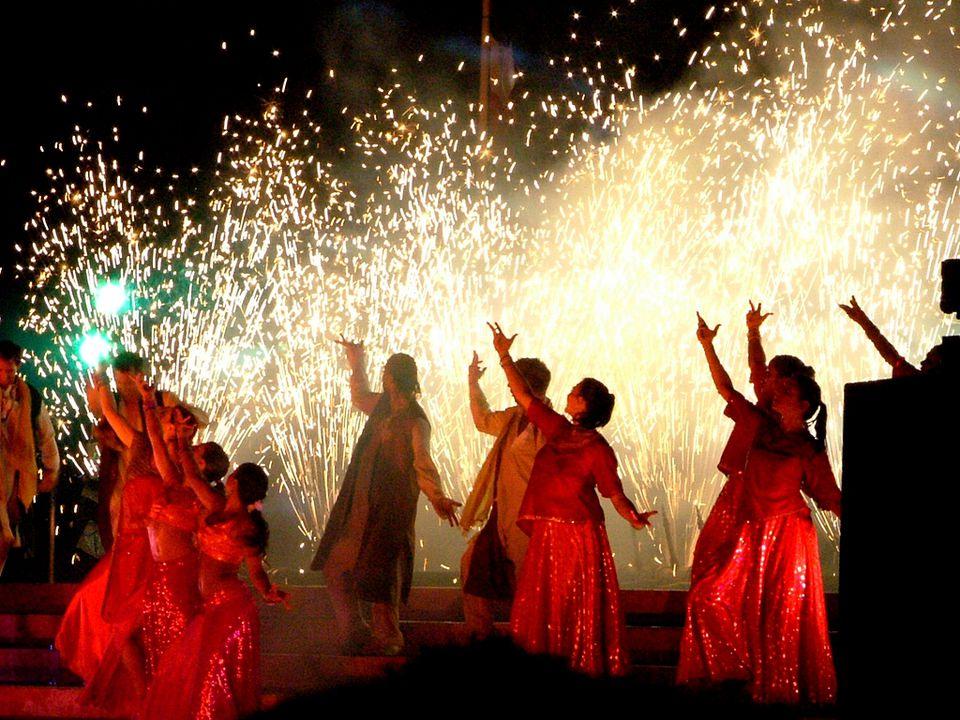 Bollywood dance show