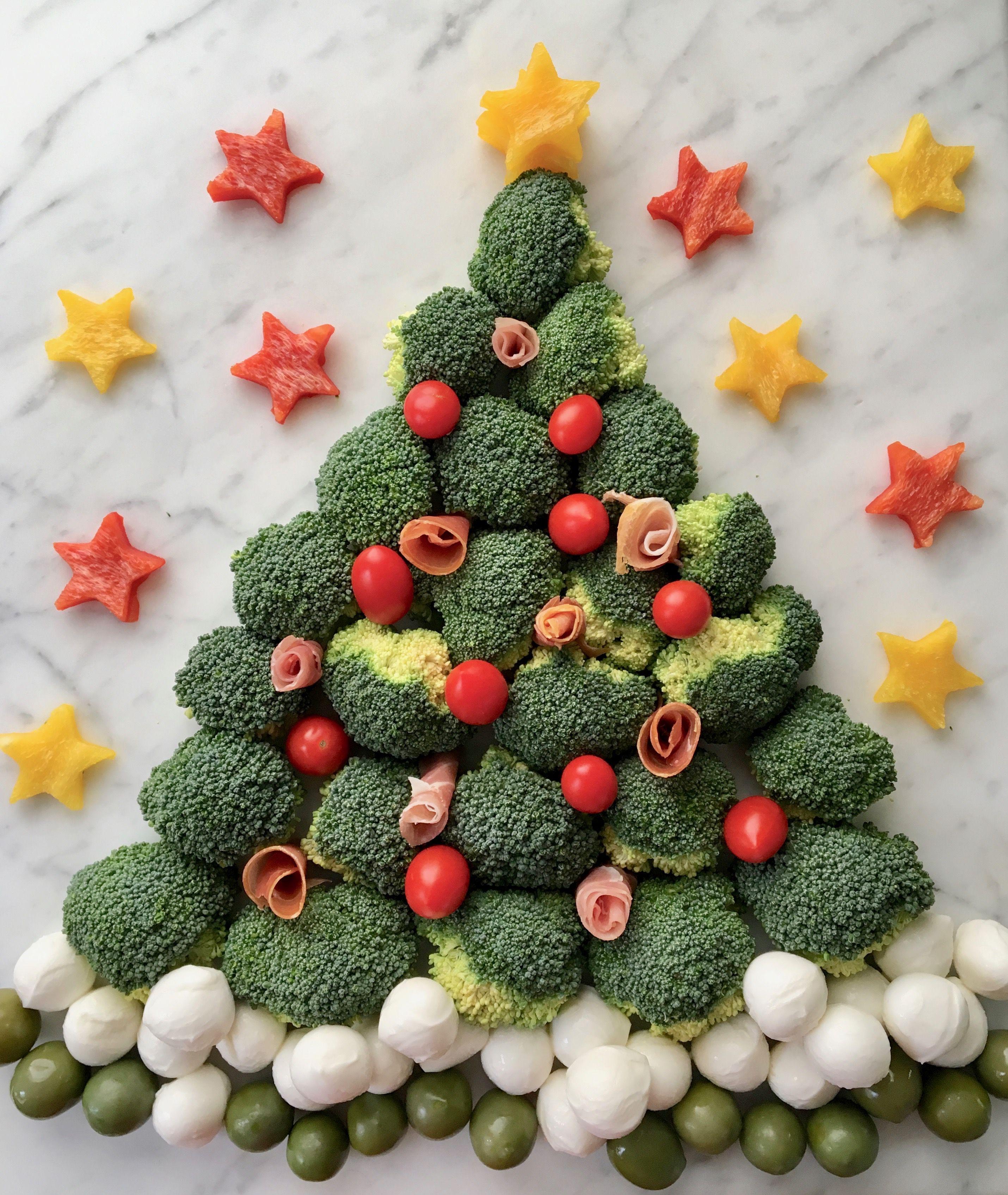 Veggie Christmas Tree Recipe: How To Make A Crudité Christmas Tree