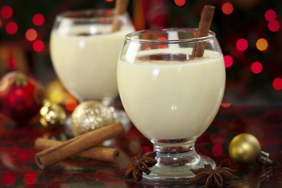 Eggnog is an old holiday tradition.