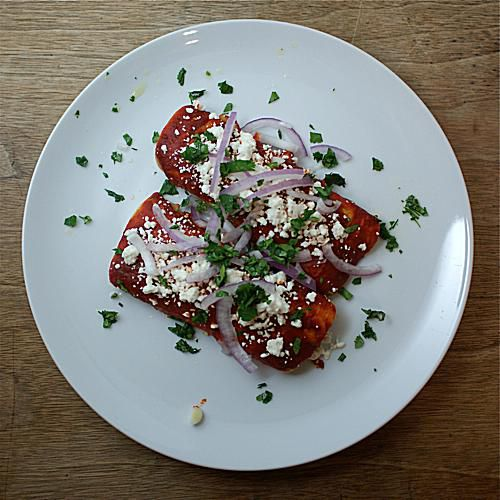 Image of Red Chile Chicken Enchiladas