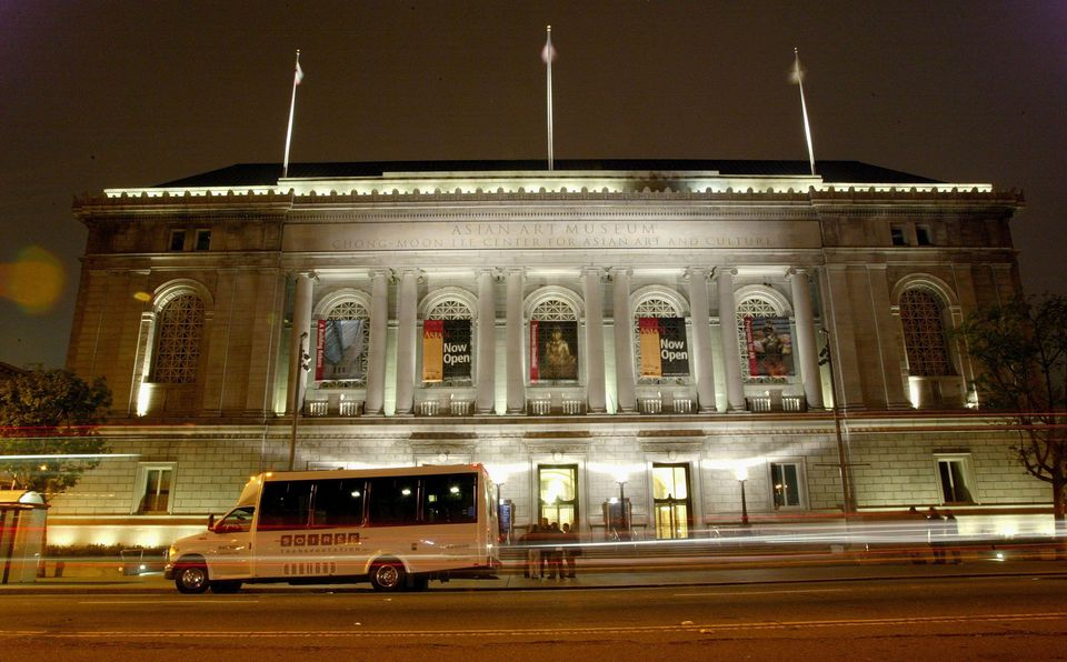 he exterior of the Asian Art Museum is seen June 7, 2003 in San Francisco.