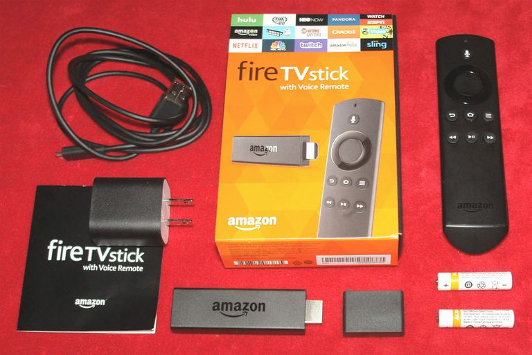 Amazon Fire TV Stick - Package Contents