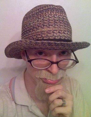 Make a Fake Mustache