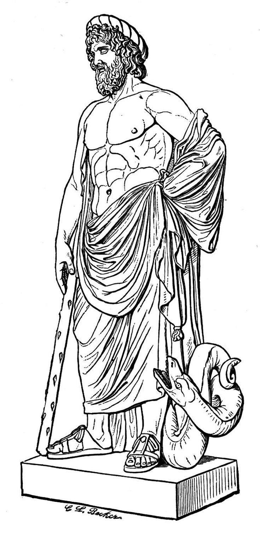 asclepius god of healing in greek u0026 roman mythology