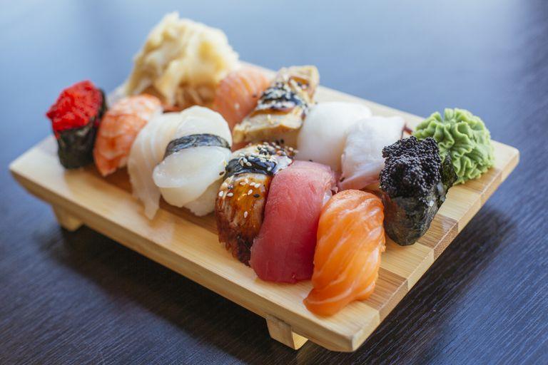 Descubre los beneficios del sushi