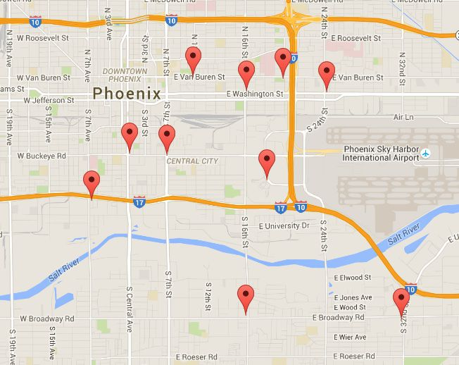 Gas Stations Near Sky Harbor Rental Car Return