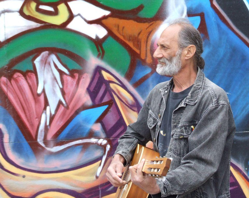 Street Entertainer at Kensington Market