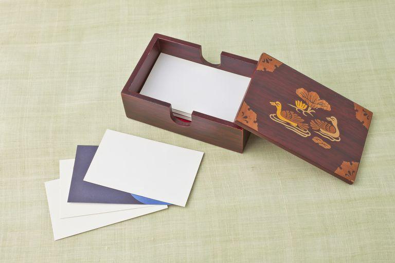 Business Card, 명함케이스